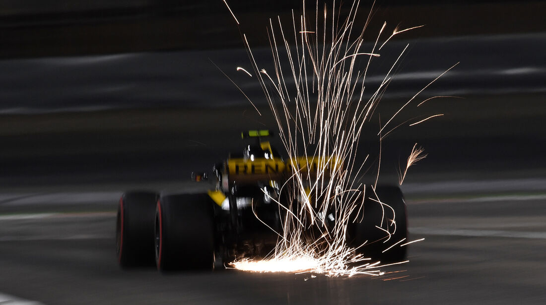 Carlos Sainz - Renault - Formel 1 - GP Bahrain - 7. April 2018