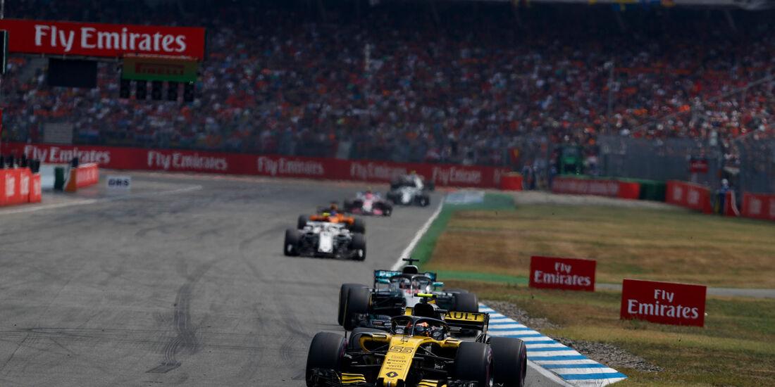 Carlos Sainz - Renault - GP Deutschland 2018 - Rennen