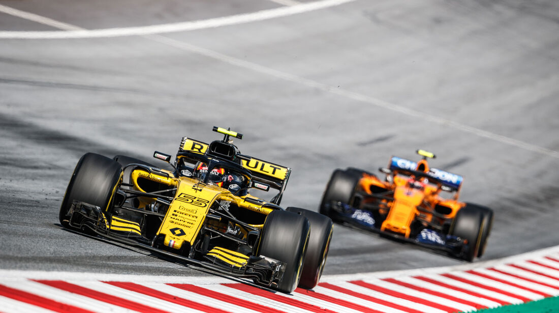 Carlos Sainz - Renault - GP Österreich 2018