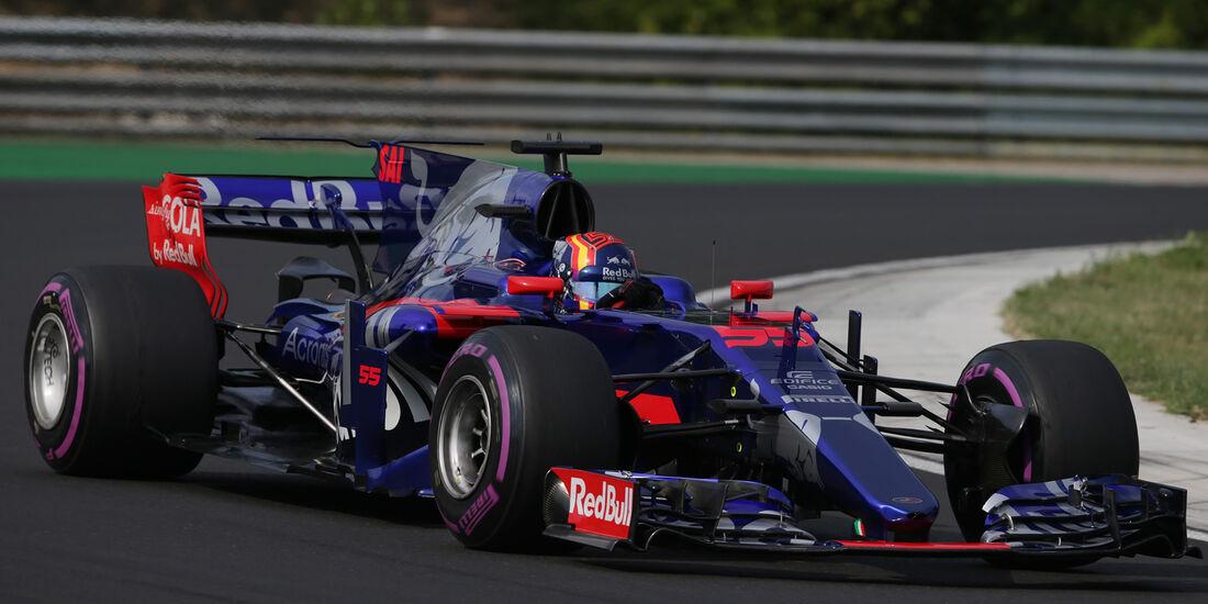 Carlos Sainz - Toro Rosso - Formel 1 - Budapest - Test - 2. August 2017