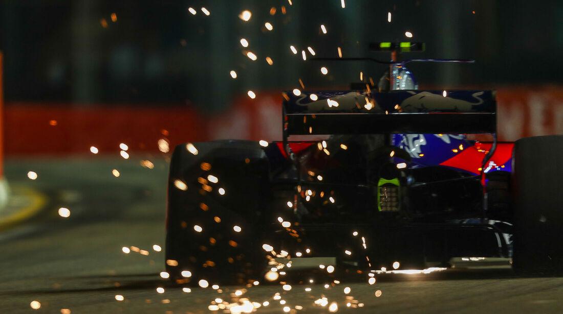 Carlos Sainz - Toro Rosso - GP Singapur - Qualifying