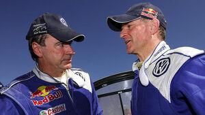 Carlos Sainz und Michel Périn