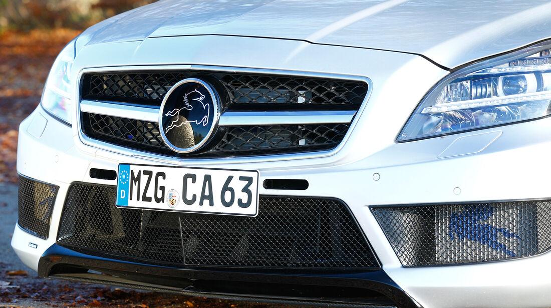 Carlsson CK63 RS, Kühlergrill, Frontpartie