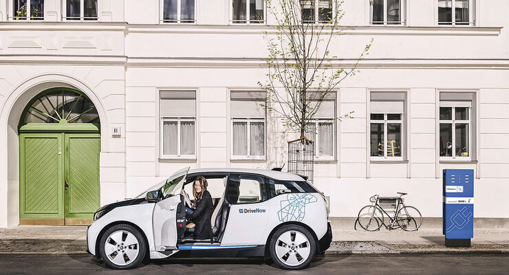 Carsharing, BMW i3