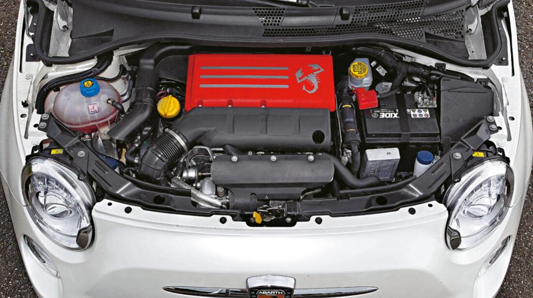 Cartech-Abarth 500 Coppa, Motor
