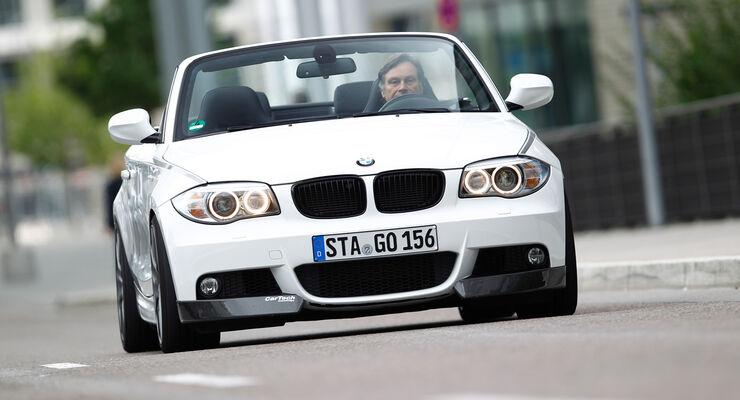 Cartech-BMW 125i Cabrio, Frontansicht