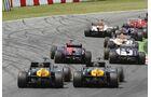 Caterham Formel 1 GP Spanien 2012
