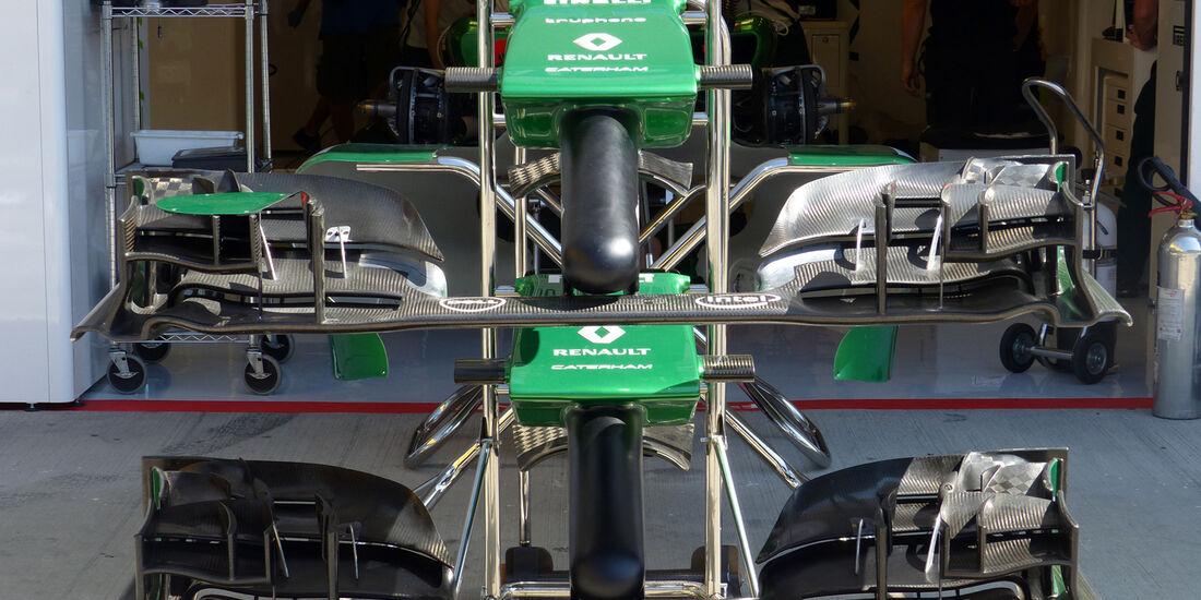 Caterham - Formel 1 - GP Ungarn - 24. Juli 2014