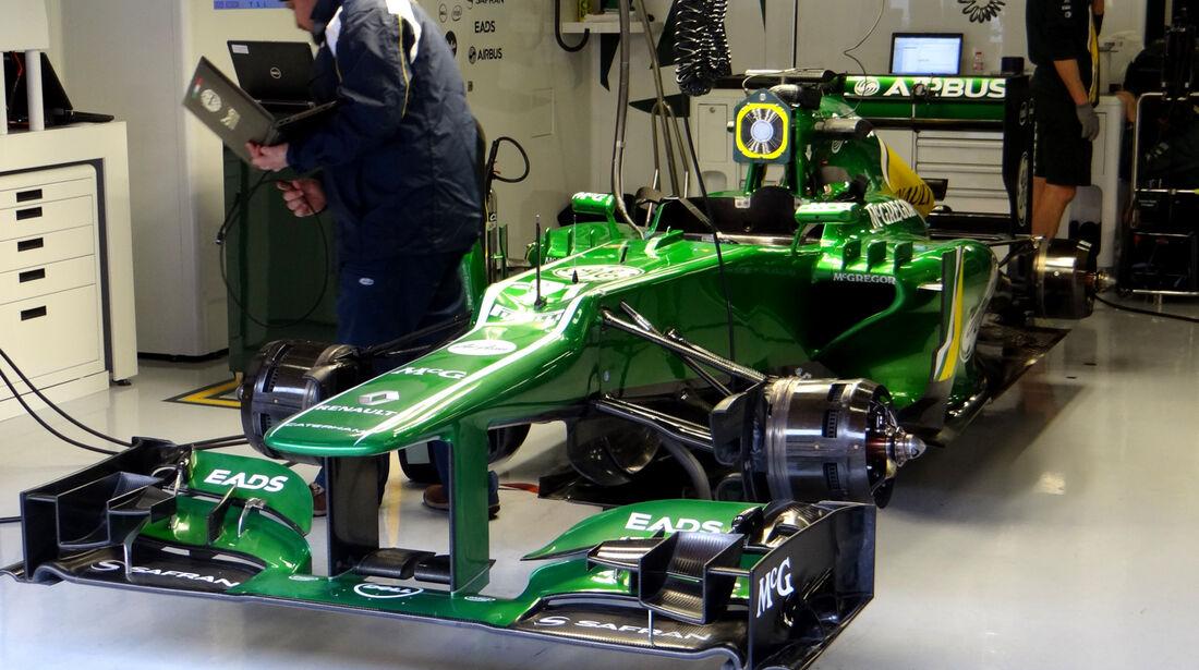 Caterham - Formel 1 - Test - Barcelona - 1. März 2013
