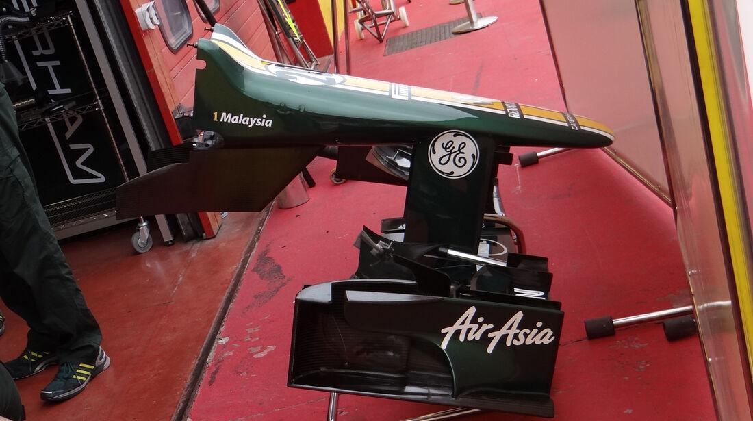 Caterham - Formel 1-Test - Mugello - 3. Mai 2012