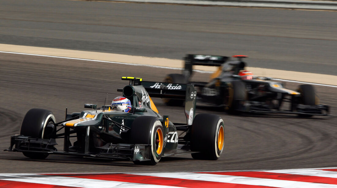 Caterham GP Bahrain 2012