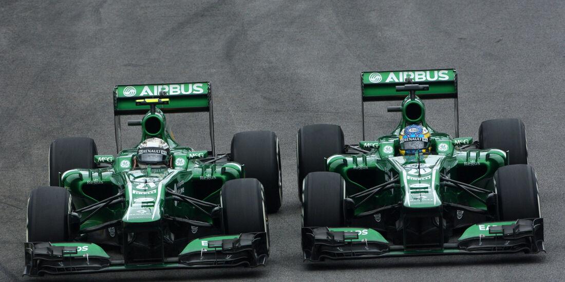 Caterham - GP Brasilien 2013