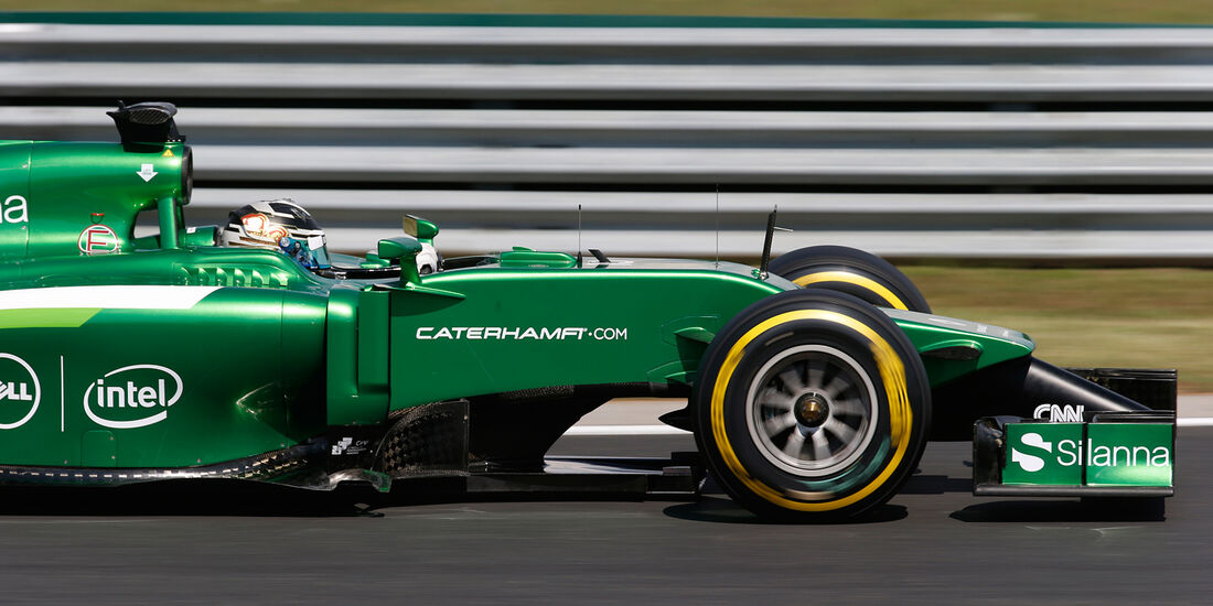 Caterham - GP Ungarn 2014