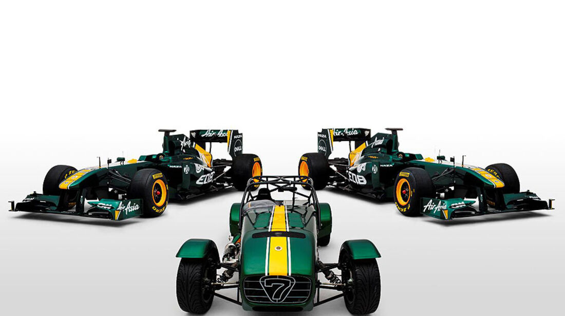 Caterham Seven Team Lotus Special Edition, Team Lotus T128 F1
