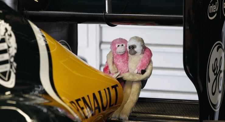 Caterham Technik Affen GP England 2012