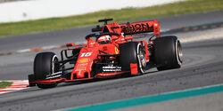 Charles Leclerc - Ferrari - Barcelona - F1-Test - 28. Februar 2019
