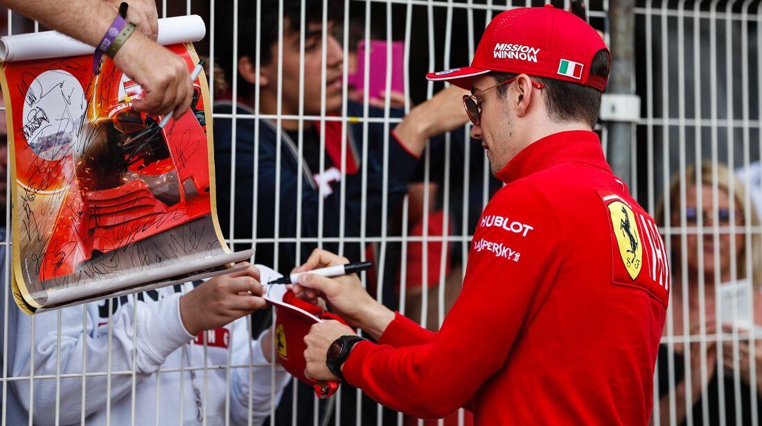 Charles Leclerc - Ferrari - Formel 1 - GP Monaco - 26. Mai 2019