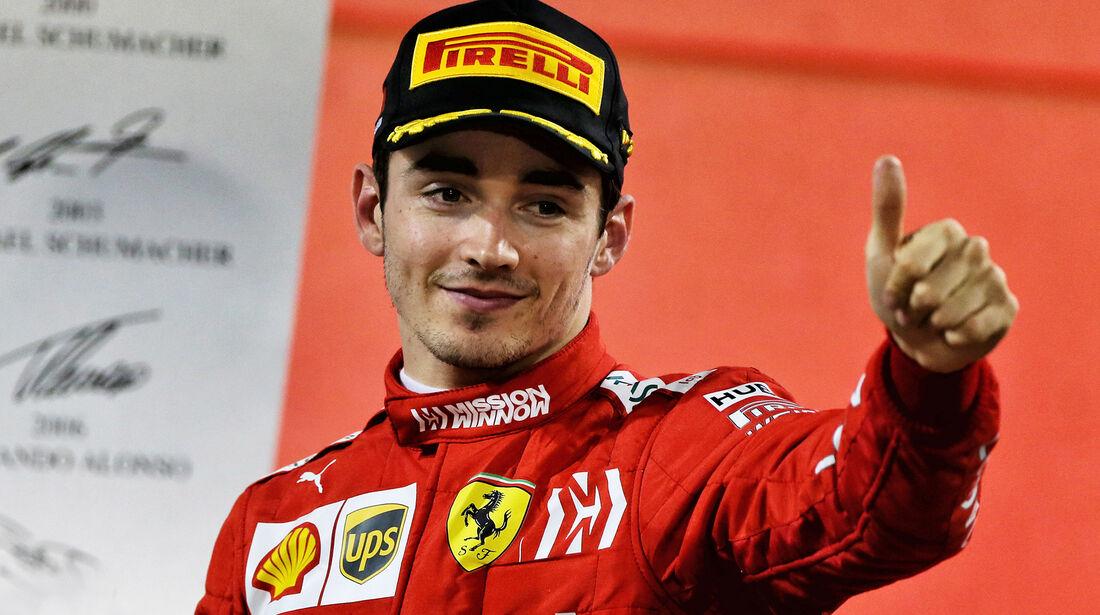 Charles Leclerc - Formel 1 - GP Bahrain 2019