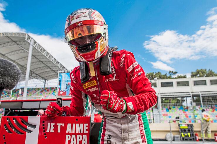 Charles Leclerc - Formula 2 - Prema