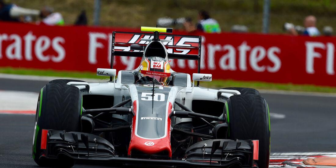 Charles Leclerc - Haas F1 - Formel 1 - GP Ungarn - 22. Juli 2016