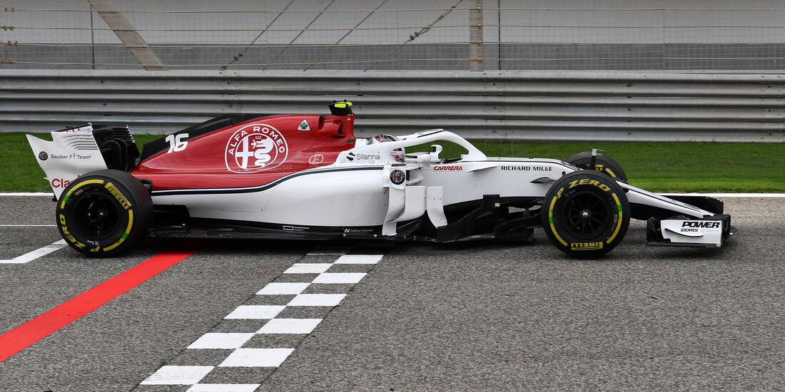 Charles Leclerc - Sauber - Formel 1 - GP Bahrain - Training - 6. April 2018