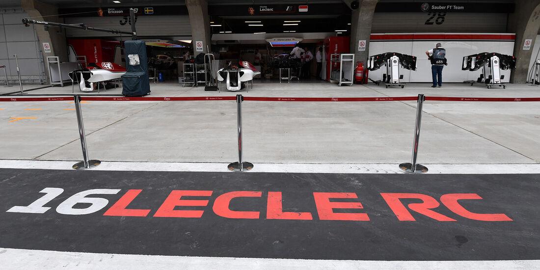 Charles Leclerc - Sauber - Formel 1 - GP China - Shanghai - 12. April 2018