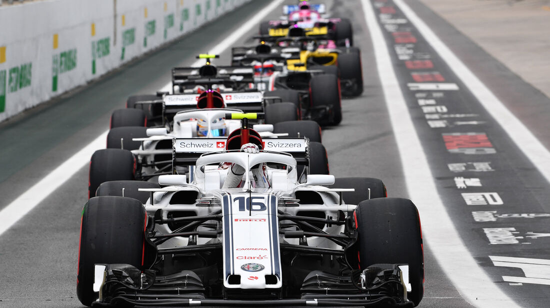 Charles Leclerc - Sauber - GP Brasilien - Interlagos - Formel 1 - Samstag - 10.11.2018