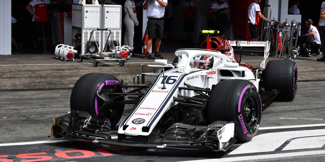 Charles Leclerc - Sauber - GP Deutschland 2018 - Hockenheim - Qualifying - Formel 1 - Samstag - 21.7.2018
