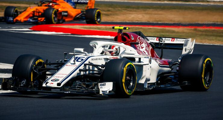 Charles Leclerc - Sauber - GP England - Silverstone - Samstag - 7.7.2018