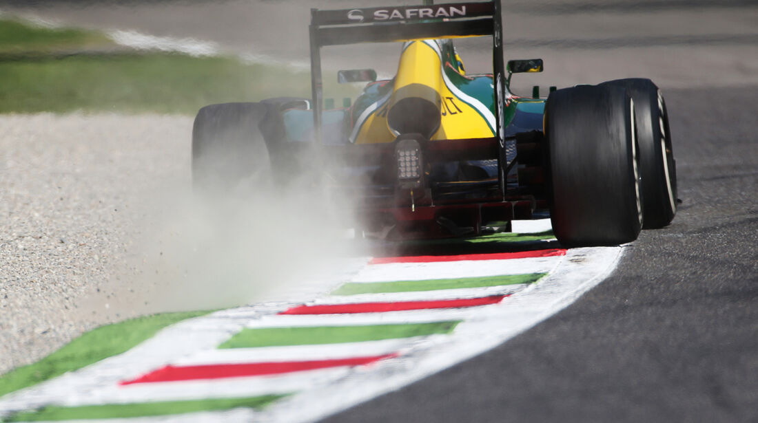 Charles Pic - Caterham - Formel 1 - GP Italien - 6. September 2013