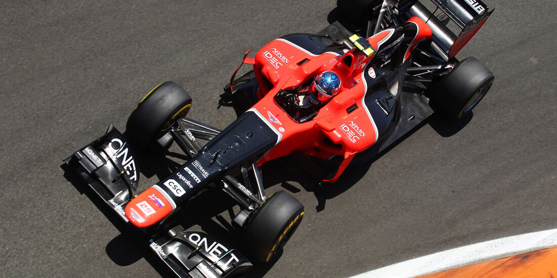 Charles Pic Formel 1 2012