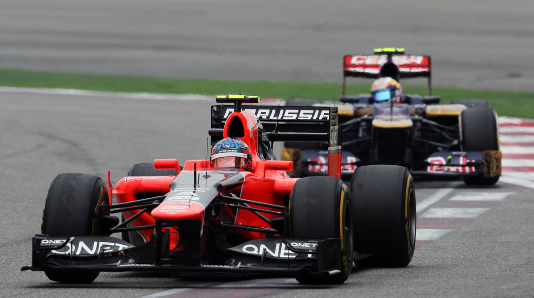 Charles Pic GP China 2012
