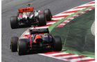Charles Pic GP Spanien 2012