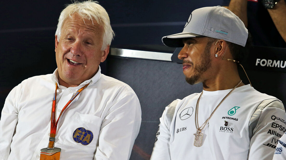 Charlie Whiting & Lewis Hamilton