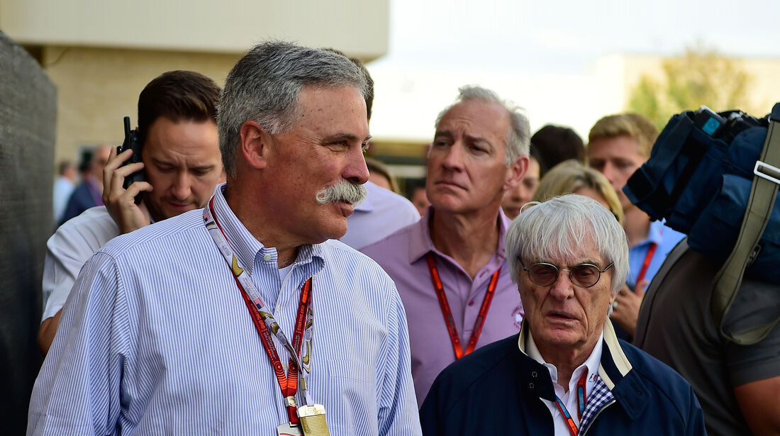 Chasey Carey & Bernie Ecclestone - Formel 1 2016