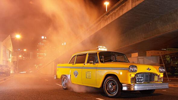 Checker Cab A11, Frontansicht