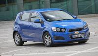 Chevrolet Aveo 1.4 LT+, Frontansicht