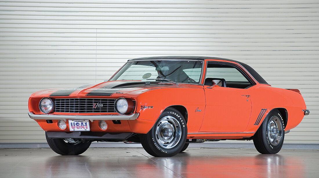 Chevrolet Camaro Z/28 Coupe (frontansicht)
