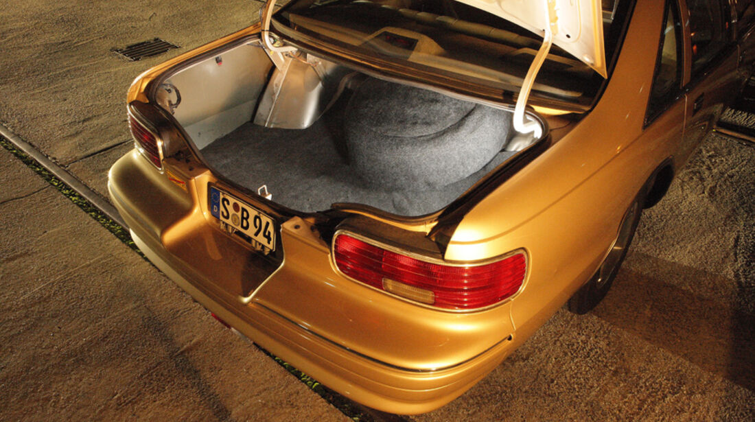 Chevrolet Caprice, Kofferraum