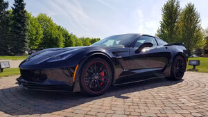 Chevrolet Corvette C7 front-engine, last built, 2019