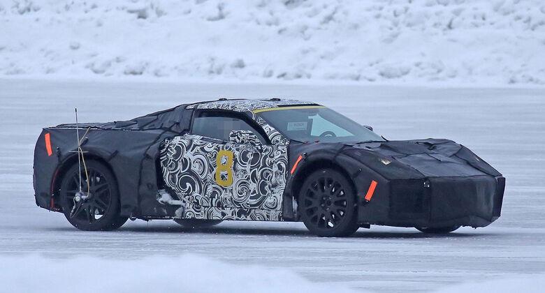 Chevrolet Corvette C8 Mittelmotor Erlkönig