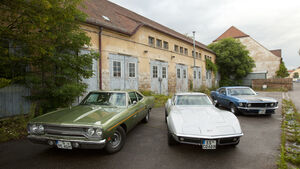 Chevrolet Corvette, Ford Mustang Boss 302, Plymouth Roadrunner 440