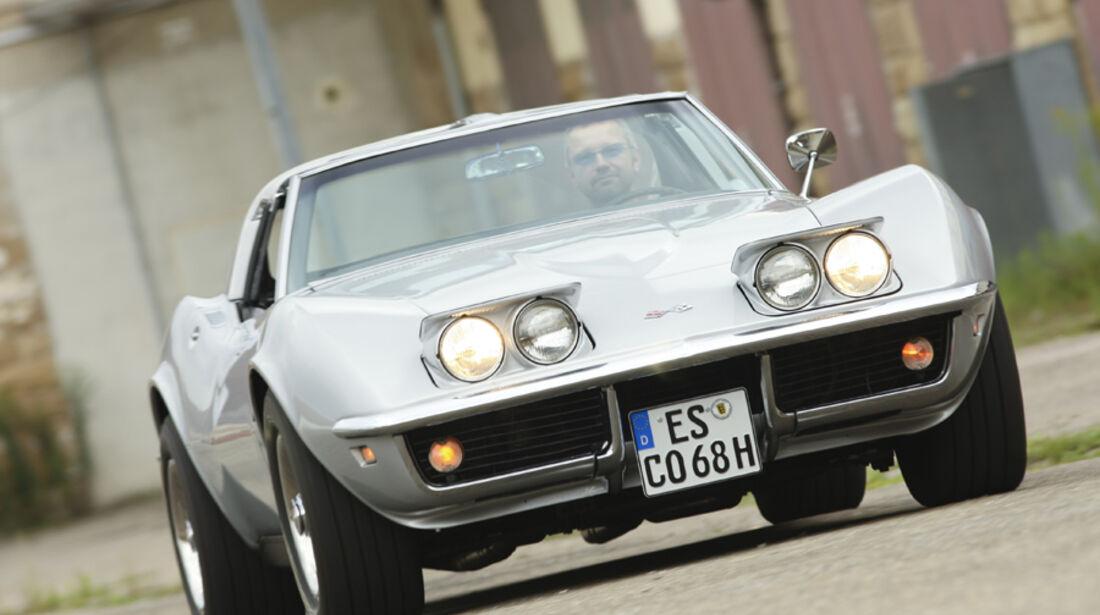 Chevrolet Corvette, Front