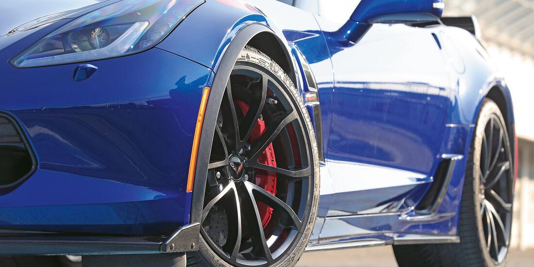 Chevrolet Corvette Grand Sport, Rad, Felge