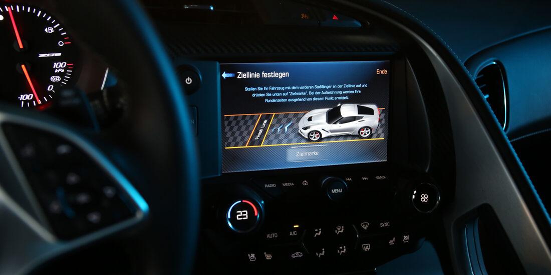 Chevrolet Corvette, Monitor, Infotainment