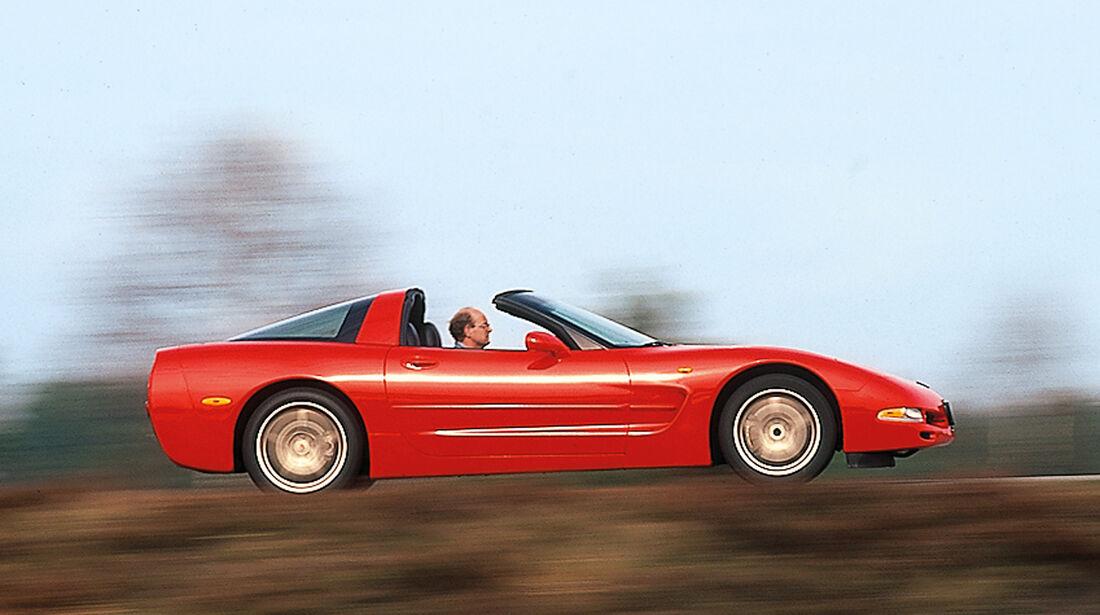 Chevrolet Corvette, Seitenansicht
