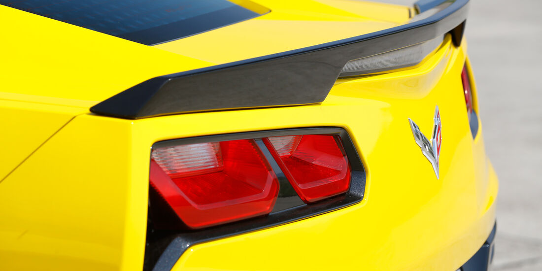 Chevrolet Corvette Stingray, Heckspoiler
