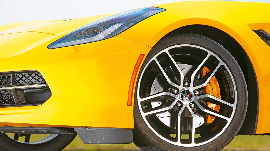 Chevrolet Corvette Stingray, Rad, Felge