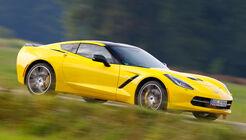 Chevrolet Corvette Stingray, Seitenansicht