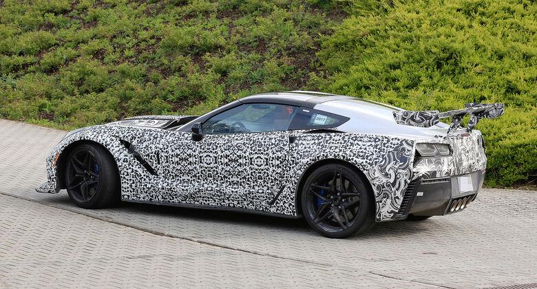 Chevrolet Corvette ZR1 Erlkönig